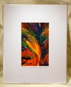 """""""Irrefutable"""" 4x6 Limited Edition Giclee Print, matted to 8x10"""
