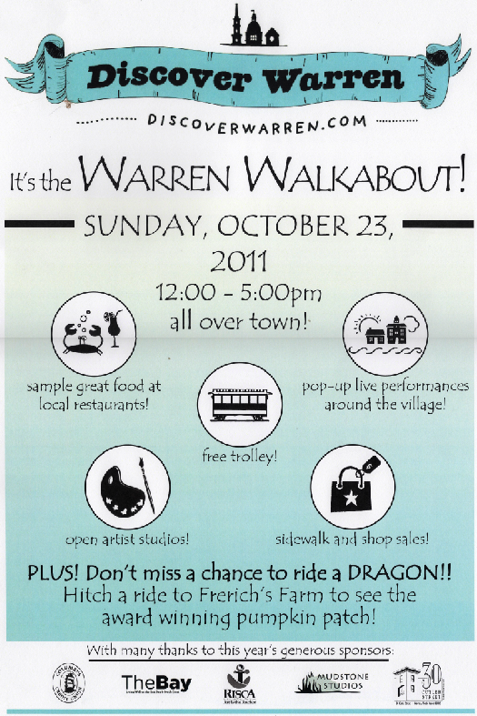 Warren Walkabout 2011 Poster