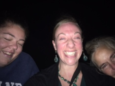 Note to self: Never try to take a selfie in the dark.