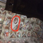 "I found Adam & ""God"" famous fresco"
