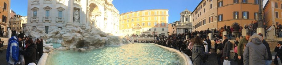 Trevi Fountain Pano