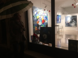 A cool gallery we stopped into