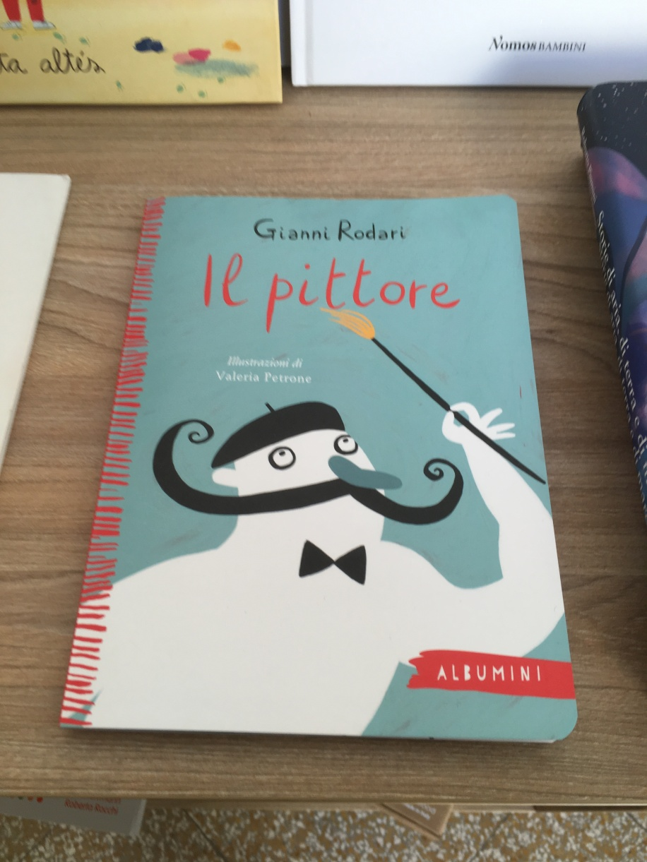 """A book I saw in the giftshop of the National Museum of Contemporary Art, """"The Painter"""""""