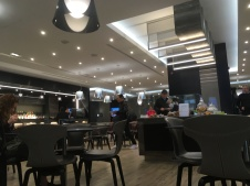 The lounge at FCO airport