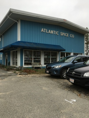 Atlantic Spice Co. before the downpour