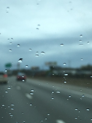 Cool rainy road trip image