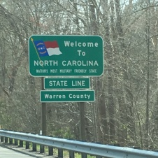 Welcome to North Carolina!
