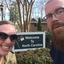 Welcome to North Carolina for a third time!