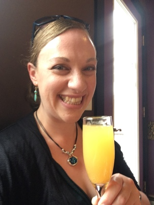 Morning mimosa at Purple Feather