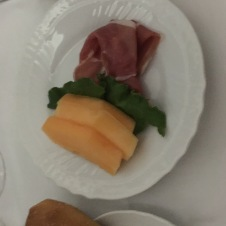 Proscuitto and melon is a thing?