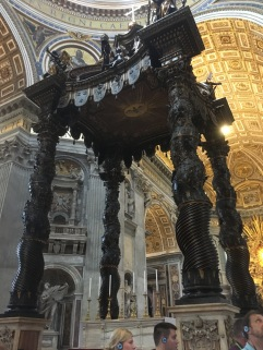 The big thing in the basilica