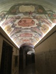 Roof frescos in papal grotto