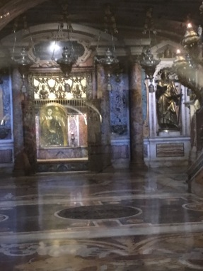 The sepulchre of the remains of the Apostle Peter
